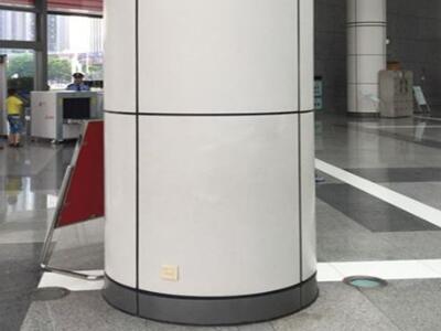 包柱铝单板厂 氟碳包柱铝单板万达广场室内包柱