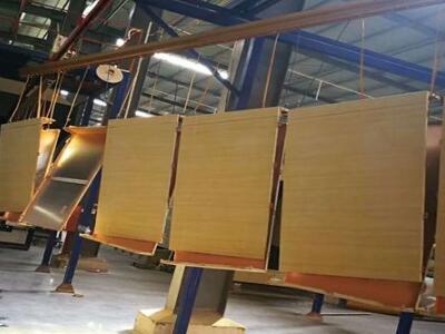 吊顶天花500×1500mm木纹铝单板板