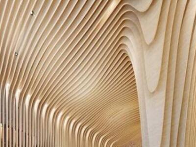 弧形铝方通厂家 生活广场弧形铝方通 弧形木纹铝方通价格