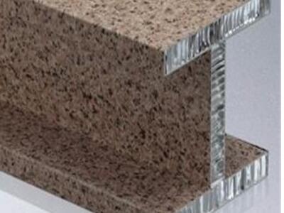 铝蜂窝石材 石材铝蜂窝 工字型蜂窝吕梁