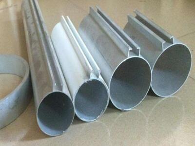 高档印花木纹铝合金圆管 订做各种铝圆管