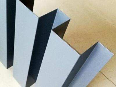 外墙装饰铝长城板 凹凸型木纹铝板 连续折弯铝单板