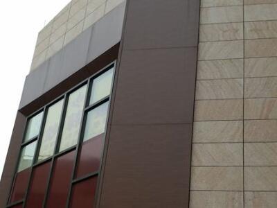 广州铝单板厂3.0mm仿石材铝单板幕墙地铁站台外墙铝单板